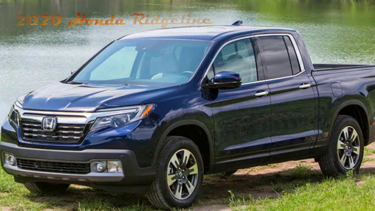 93 Best Review Honda Ridgeline News 2020 Performance and New Engine by Honda Ridgeline News 2020