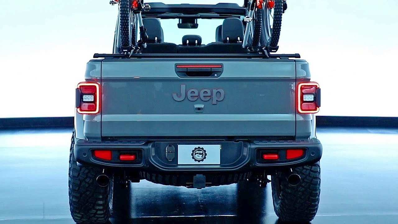 94 Gallery of 2020 Jeep Gladiator Accessories Spy Shoot for 2020 Jeep Gladiator Accessories