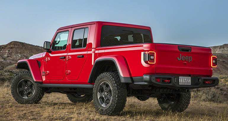 94 New Gas Mileage For 2020 Jeep Gladiator Release by Gas Mileage For 2020 Jeep Gladiator