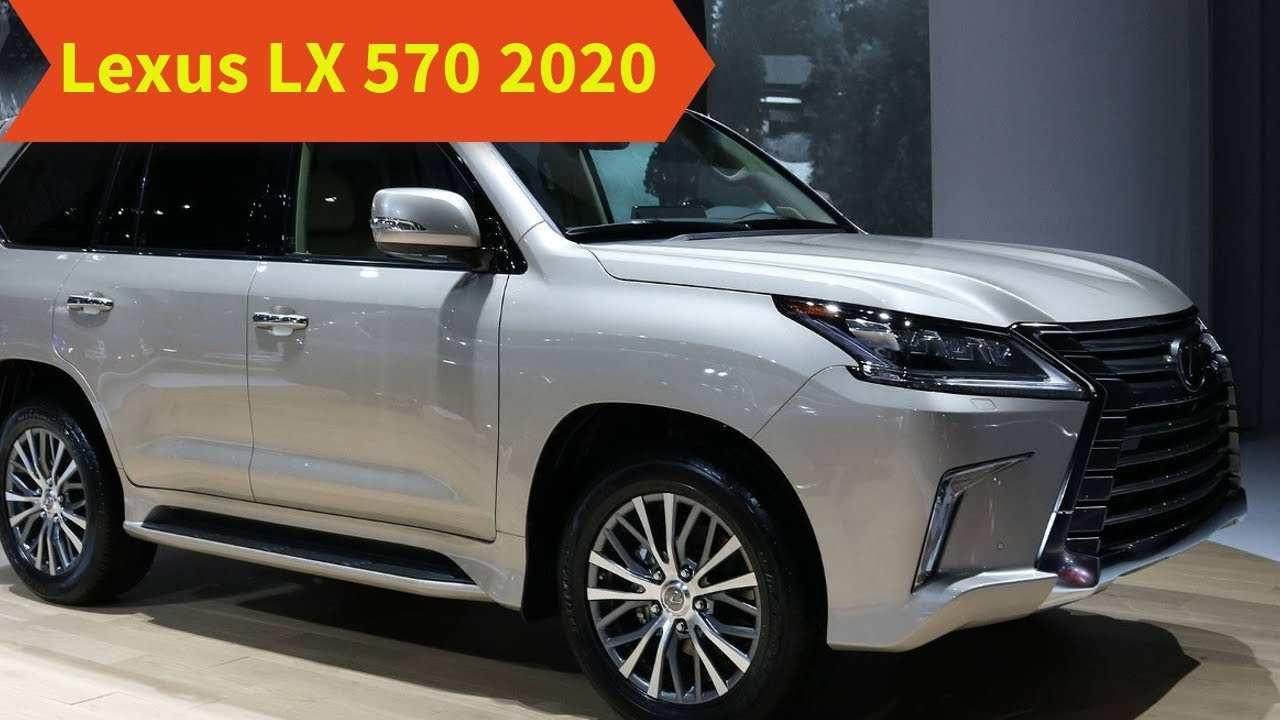 94 New Lexus Lx 570 Black Edition 2020 Redesign by Lexus Lx 570 Black Edition 2020
