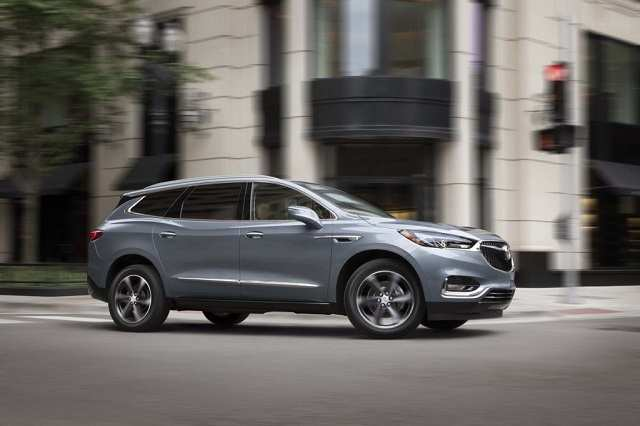 95 All New 2020 Buick Enclave Avenir Colors Spy Shoot for 2020 Buick Enclave Avenir Colors