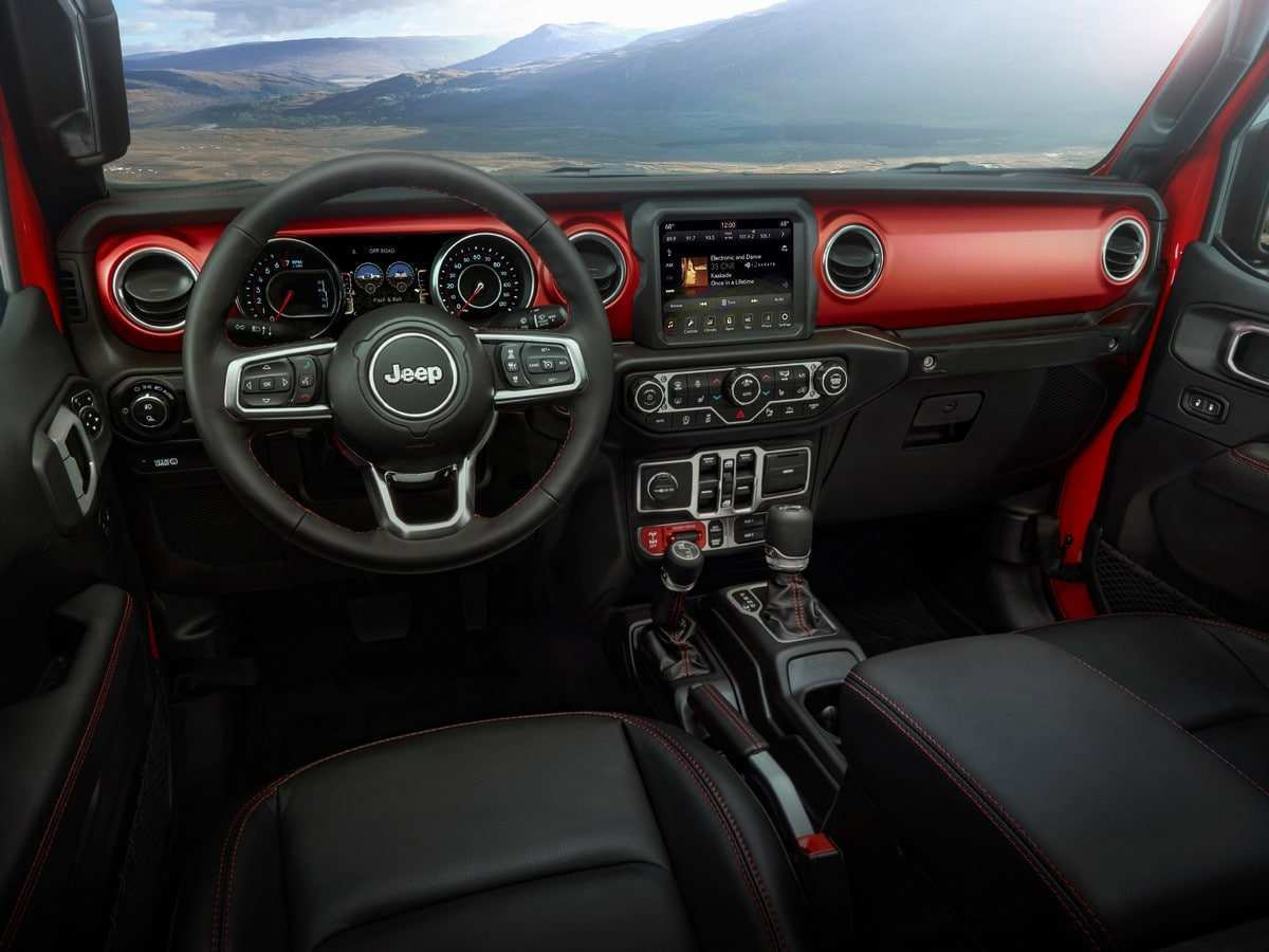 95 Gallery of Gas Mileage For 2020 Jeep Gladiator Interior for Gas Mileage For 2020 Jeep Gladiator