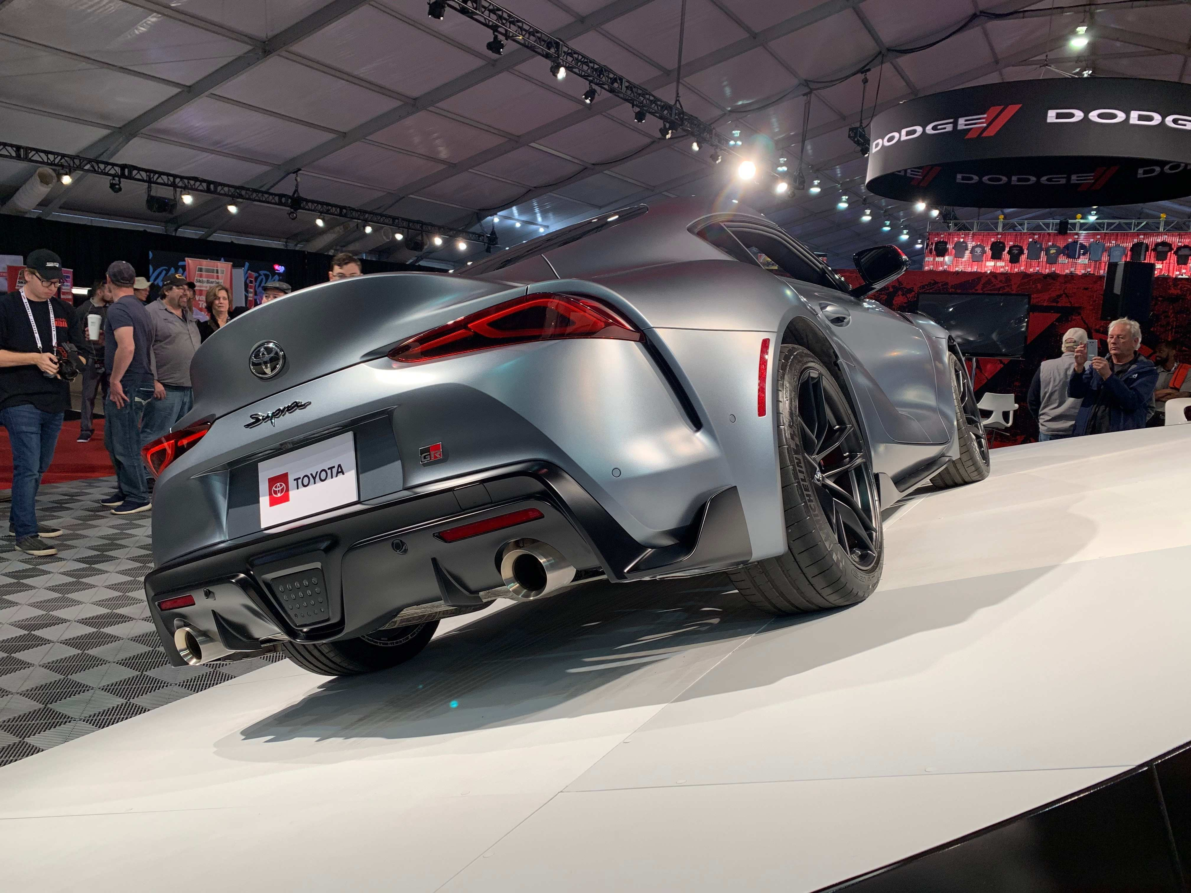 95 Great Who Bought The 2020 Toyota Supra At Barrett Jackson Redesign for Who Bought The 2020 Toyota Supra At Barrett Jackson