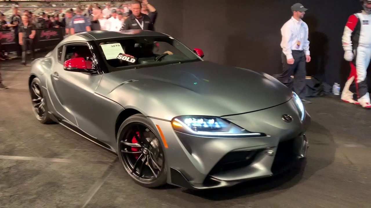 95 New Who Bought The 2020 Toyota Supra At Barrett Jackson Redesign with Who Bought The 2020 Toyota Supra At Barrett Jackson
