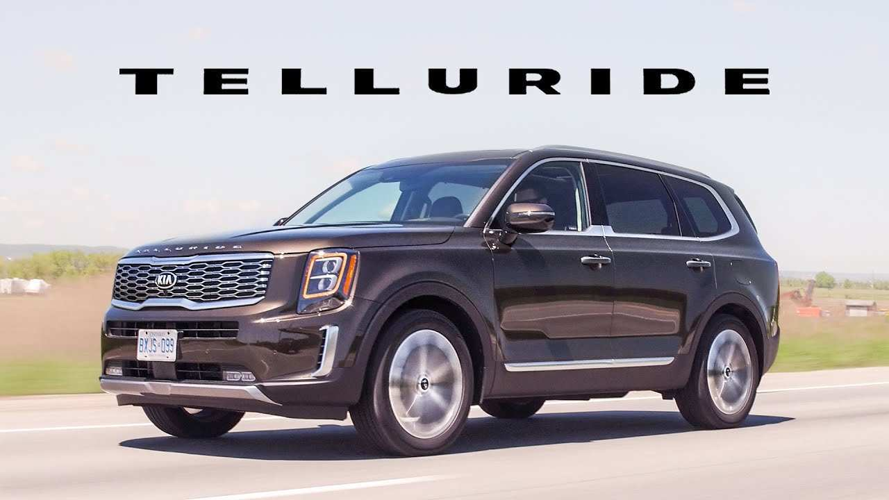 95 The 2020 Kia Telluride Video Performance and New Engine by 2020 Kia Telluride Video