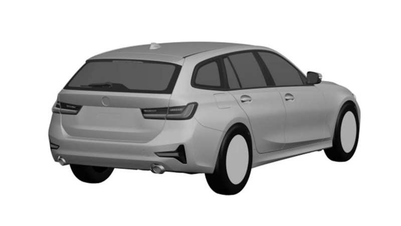 96 The New BMW 3 Series Touring 2020 Exterior for New BMW 3 Series Touring 2020