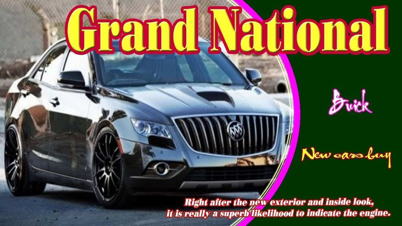 98 Best Review 2020 Buick Regal Grand National Prices by 2020 Buick Regal Grand National