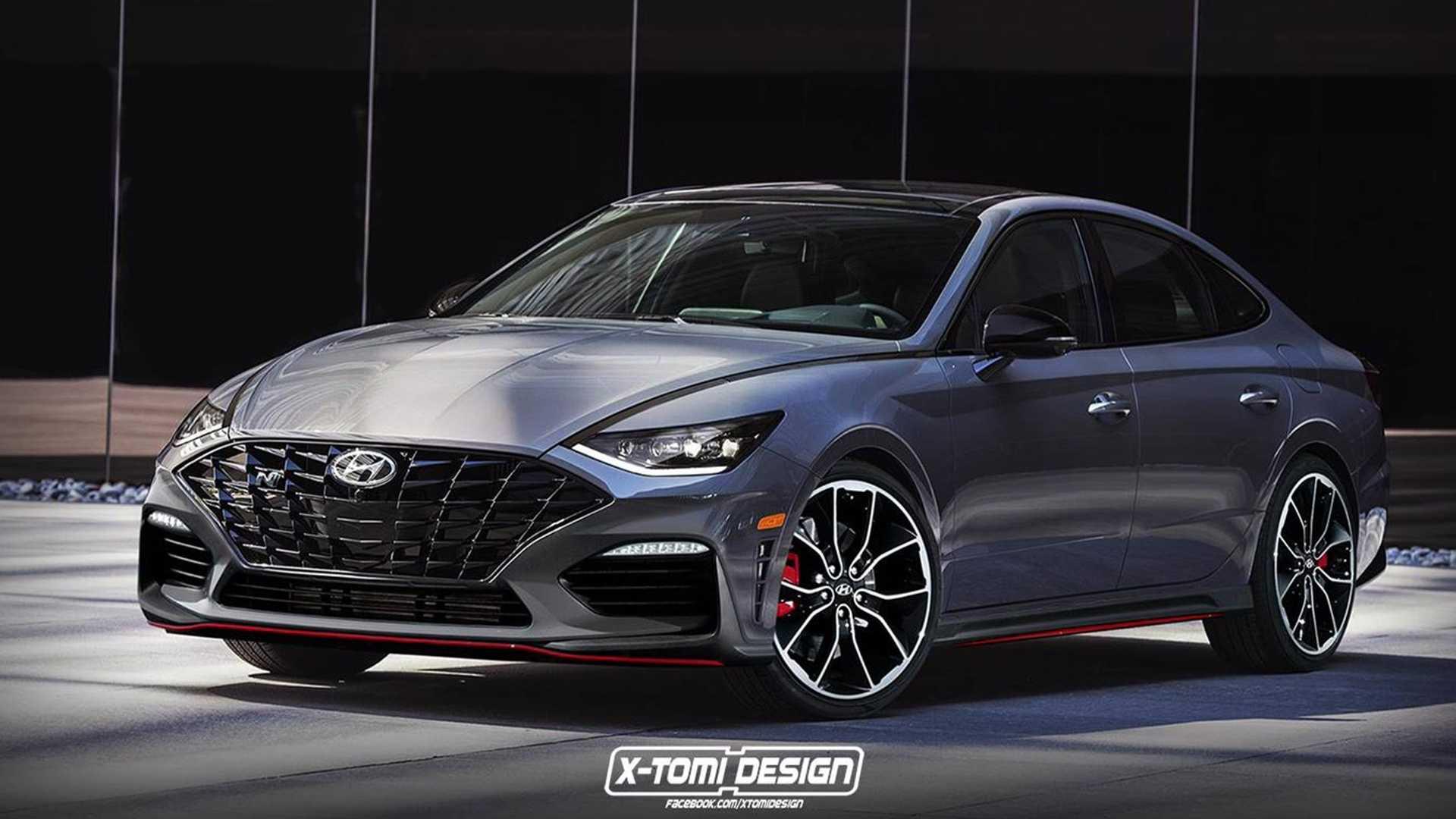 98 Gallery of 2020 Hyundai Sonata N Line Performance by 2020 Hyundai Sonata N Line