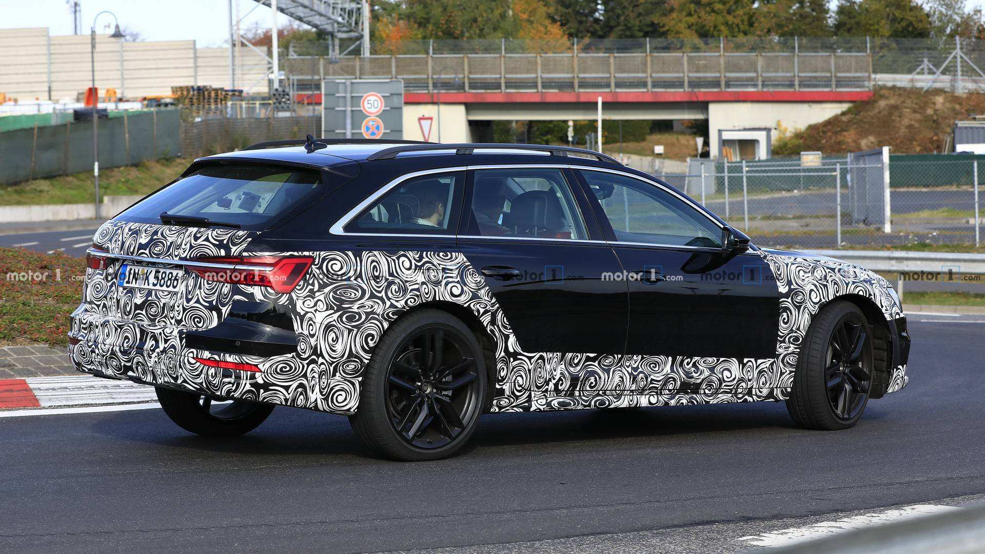 98 The 2020 Audi A6 Wagon Spy Shoot for 2020 Audi A6 Wagon