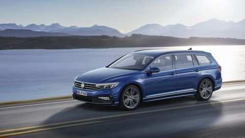 99 All New 2020 Volkswagen Passat Wagon Spy Shoot with 2020 Volkswagen Passat Wagon