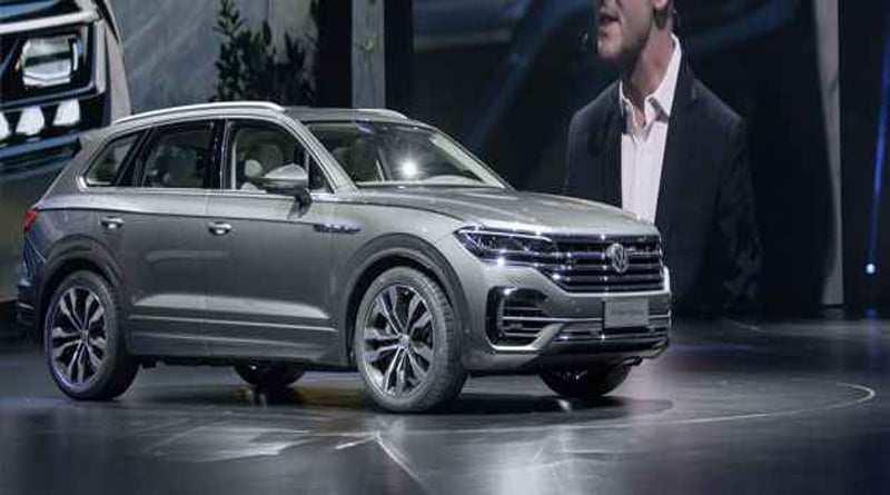 99 Gallery of Volkswagen Touareg 2020 Concept for Volkswagen Touareg 2020