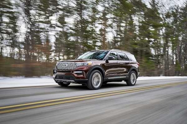 11 New Ford Unveils The New 2020 Explorer Redesign for Ford Unveils The New 2020 Explorer