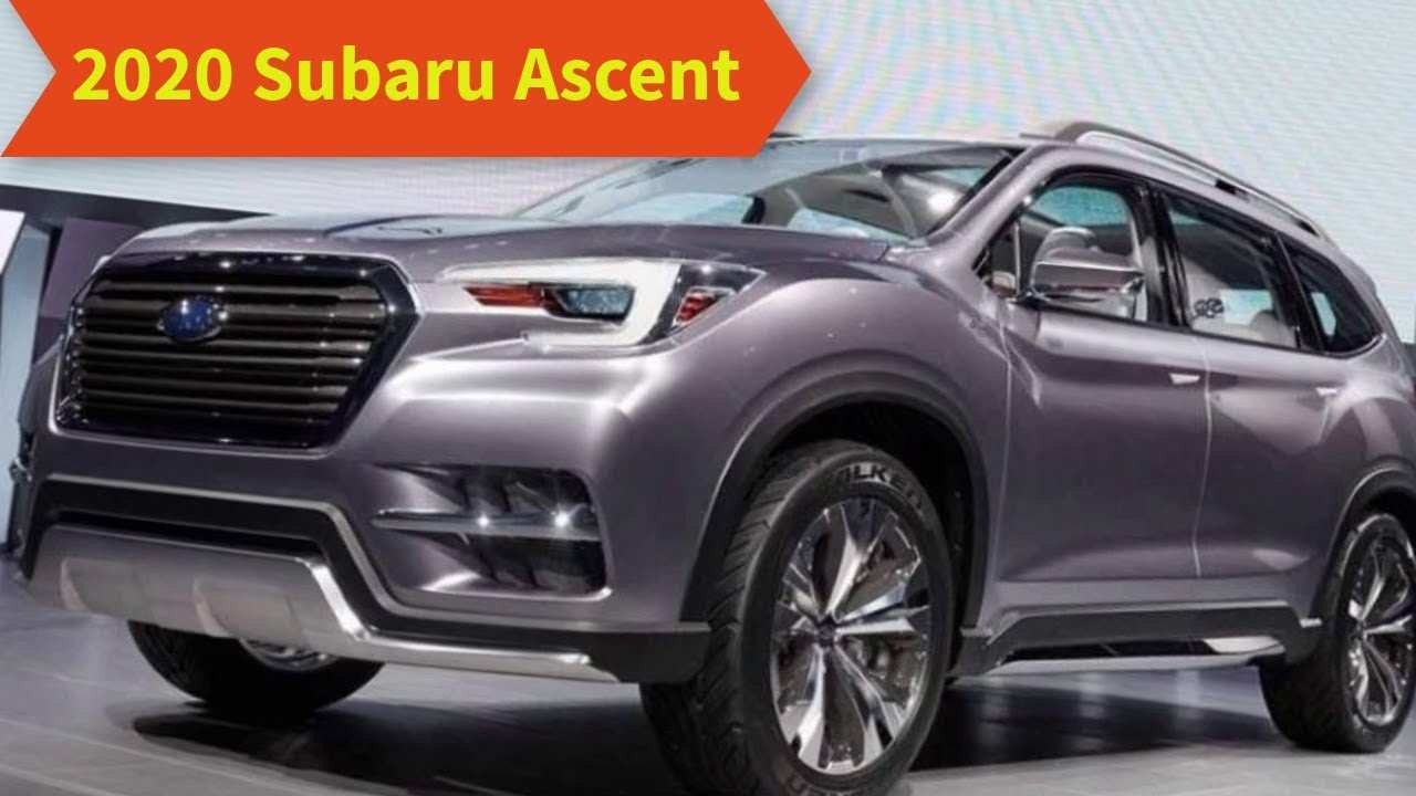 11 New Subaru Ascent 2020 Updates Picture with Subaru Ascent 2020 Updates