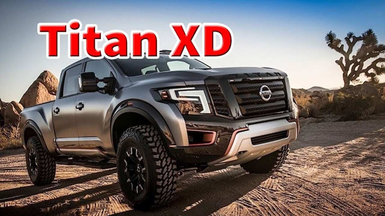 12 Concept of Nissan Titan Xd 2020 Release for Nissan Titan Xd 2020