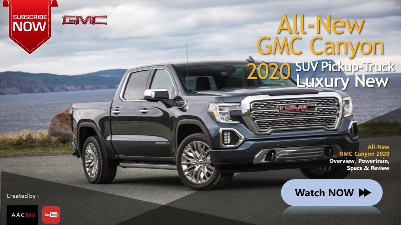 13 All New 2020 Gmc Canyon Redesign Performance with 2020 Gmc Canyon Redesign