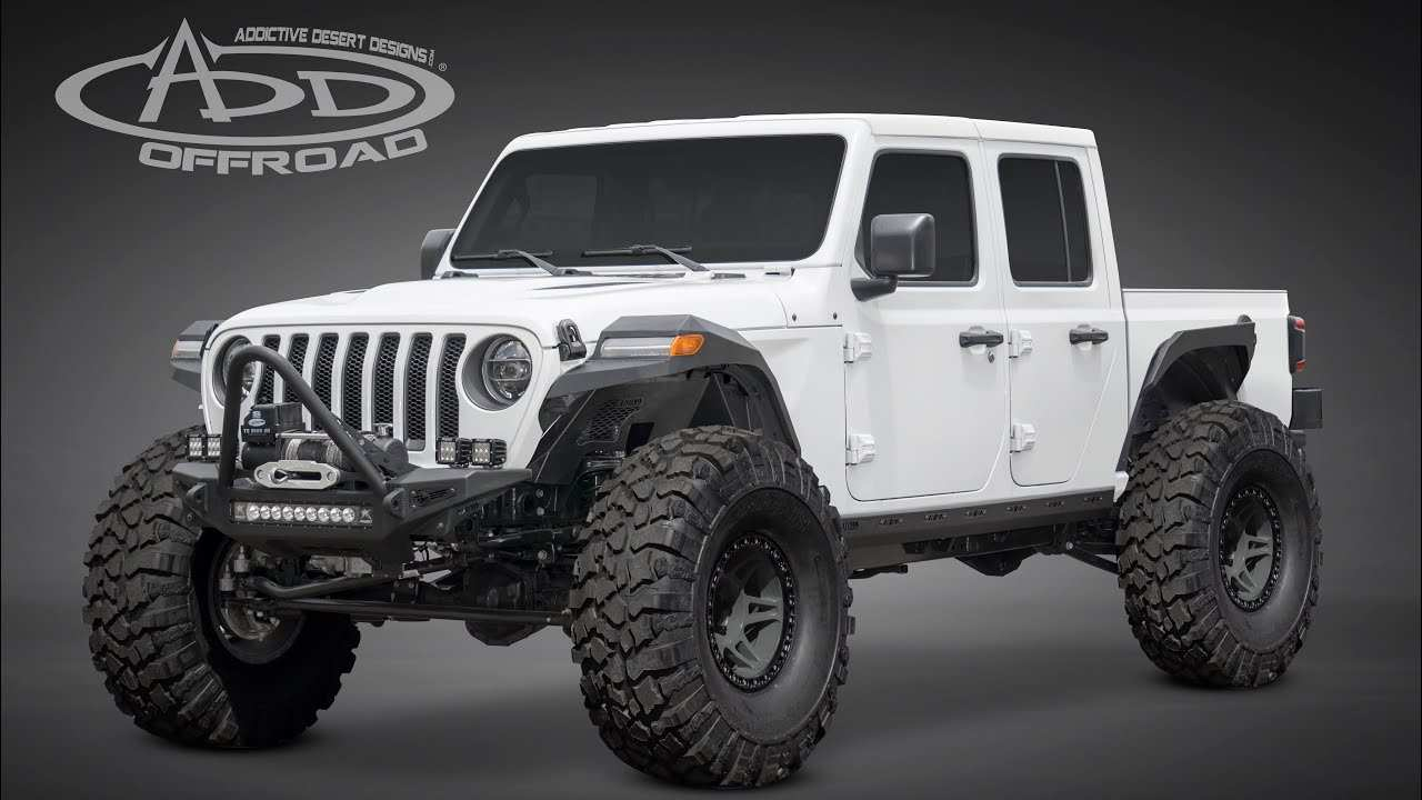 14 New Jeep Pickup 2020 Specs Performance and New Engine by Jeep Pickup 2020 Specs