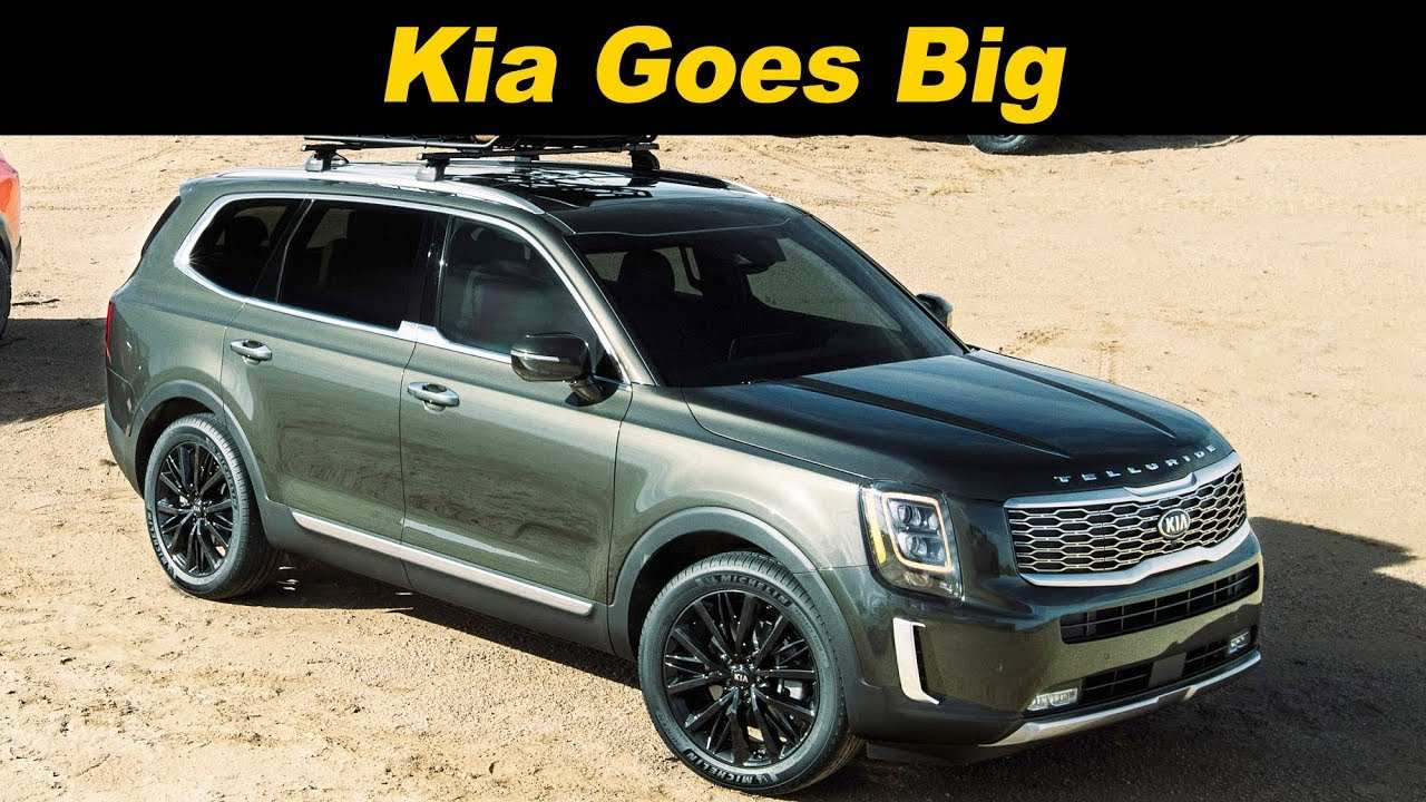 16 New 2020 Kia Telluride Youtube Interior for 2020 Kia Telluride Youtube