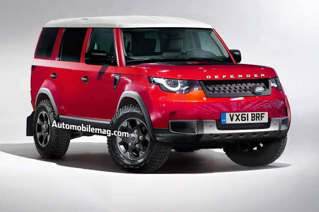 17 Concept of 2019 Land Rover Defender Images by 2019 Land Rover Defender