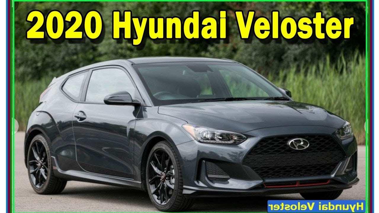 20 New Hyundai Veloster 2020 Exterior with Hyundai Veloster 2020