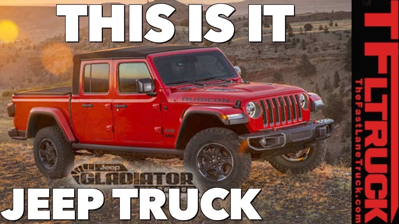 22 All New 2020 Jeep Gladiator Youtube Research New by 2020 Jeep Gladiator Youtube