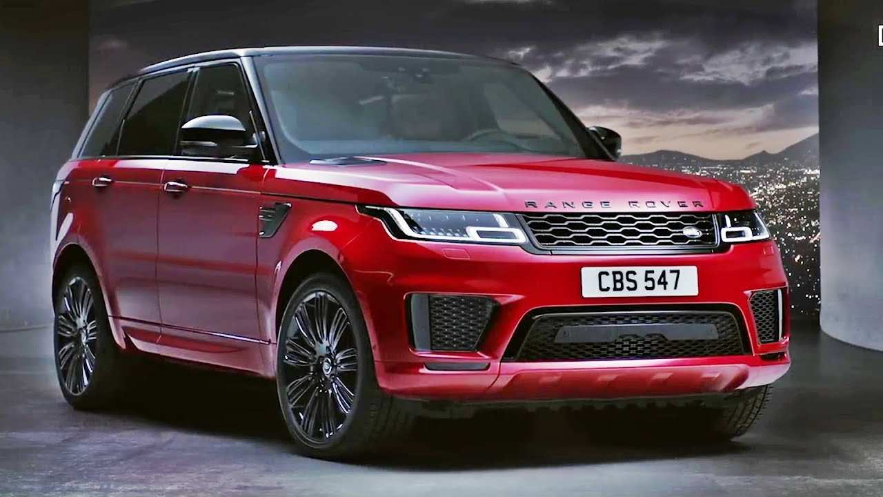 22 Best Review 2019 Range Rover Sport Specs and Review by 2019 Range Rover Sport