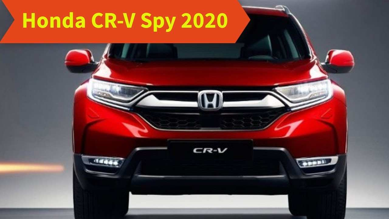 22 Best Review 2020 Honda Crv Release Date Model by 2020 Honda Crv Release Date