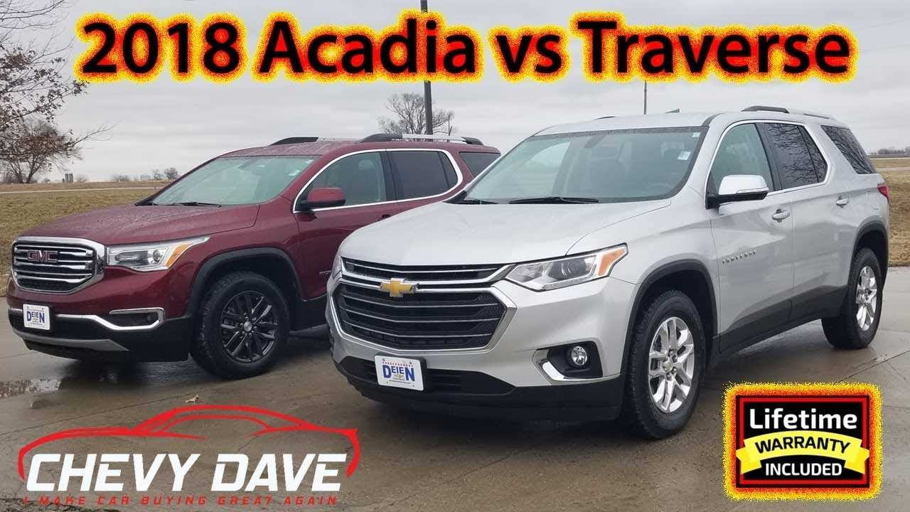 23 New 2020 Gmc Acadia Vs Chevy Traverse Redesign and Concept by 2020 Gmc Acadia Vs Chevy Traverse
