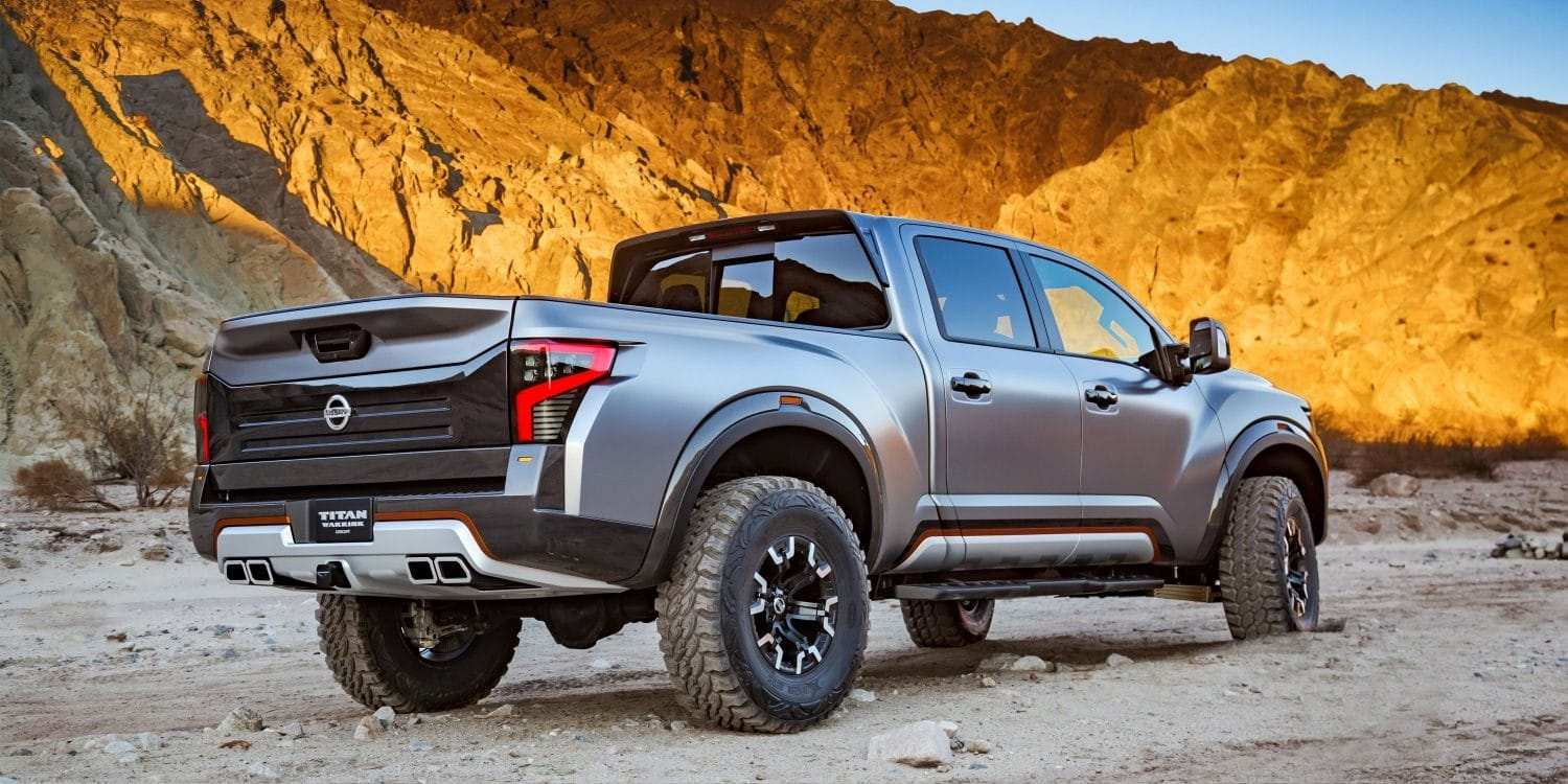 23 New Nissan Titan Warrior 2020 Specs and Review with Nissan Titan Warrior 2020