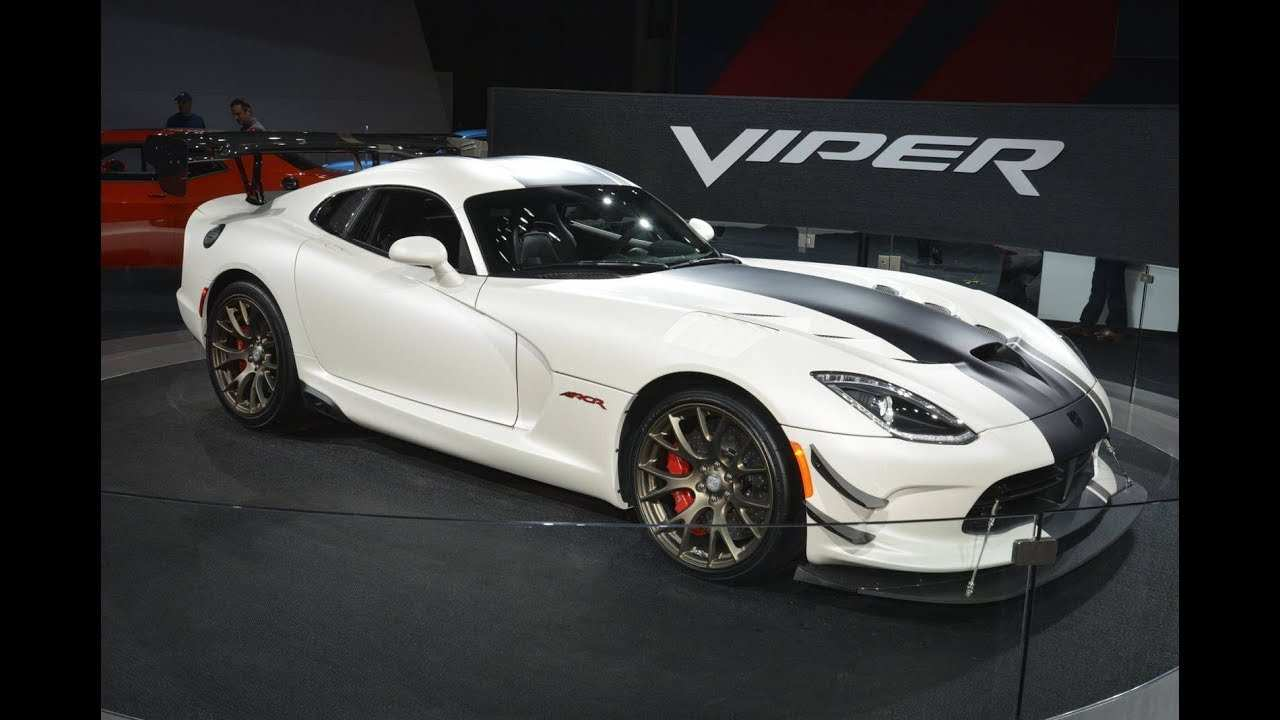 24 Great 2020 Dodge Viper Youtube Overview by 2020 Dodge Viper Youtube