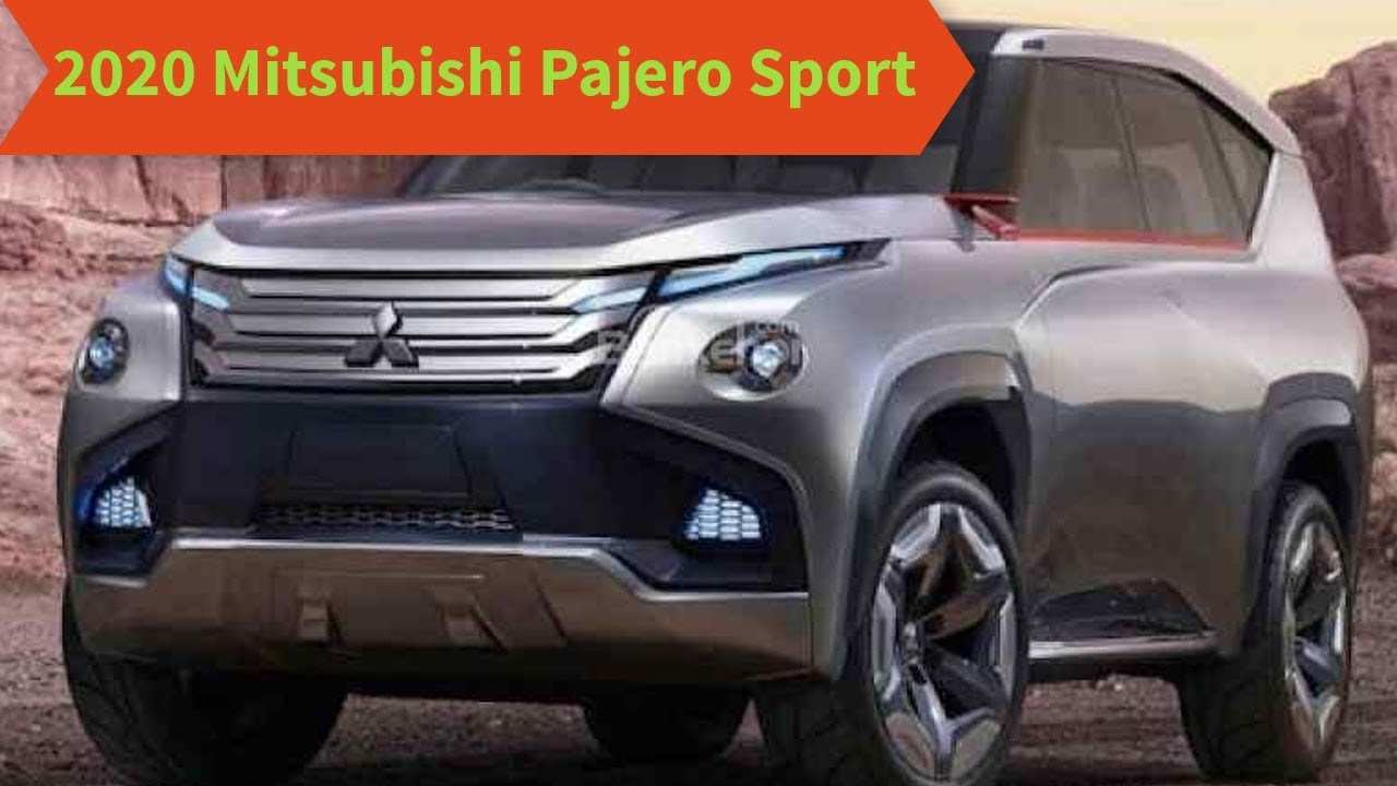 24 The Mitsubishi Pajero Full 2020 Overview with Mitsubishi Pajero Full 2020