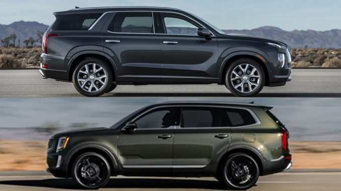 26 Gallery of 2020 Hyundai Palisade Vs Kia Telluride Ratings with 2020 Hyundai Palisade Vs Kia Telluride