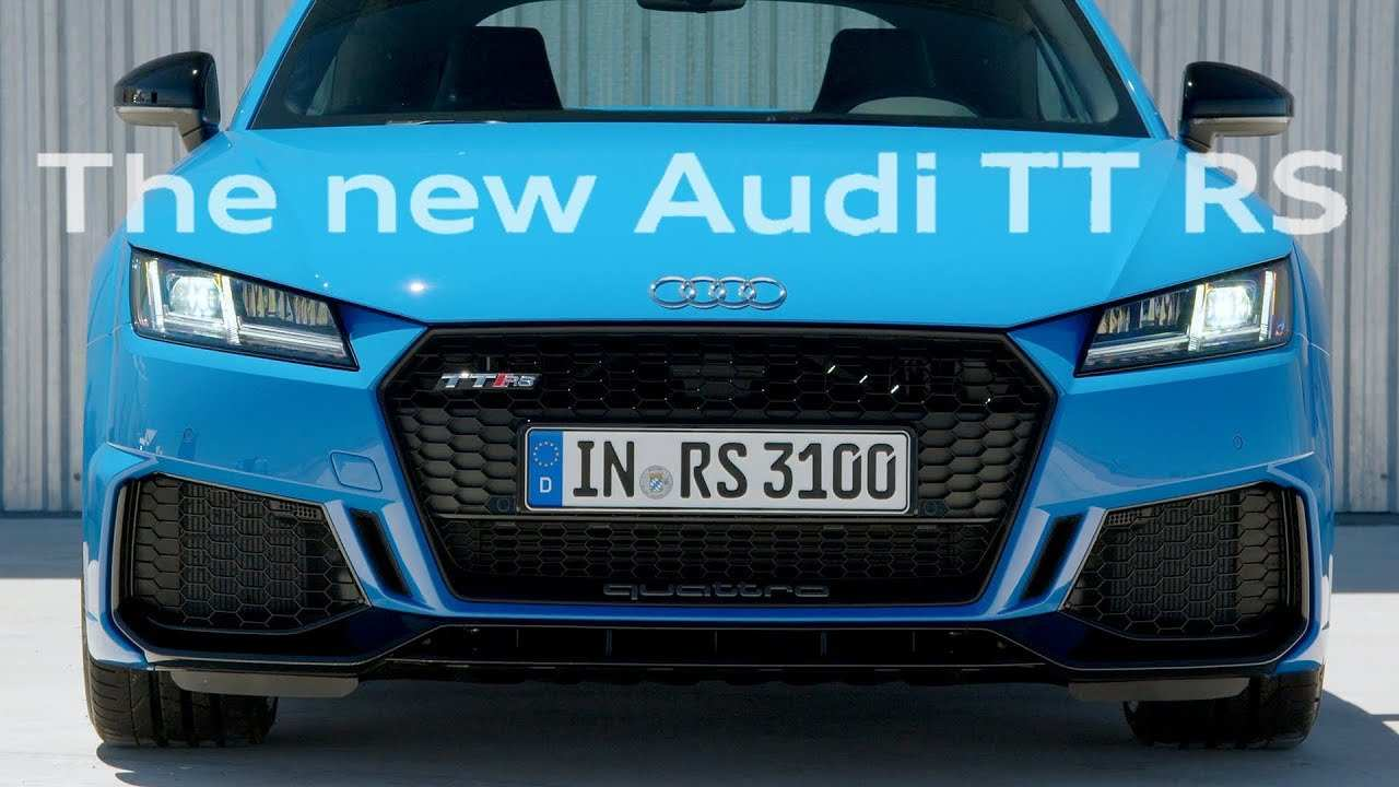 26 New Audi Tt Rs 2020 Youtube Redesign and Concept by Audi Tt Rs 2020 Youtube