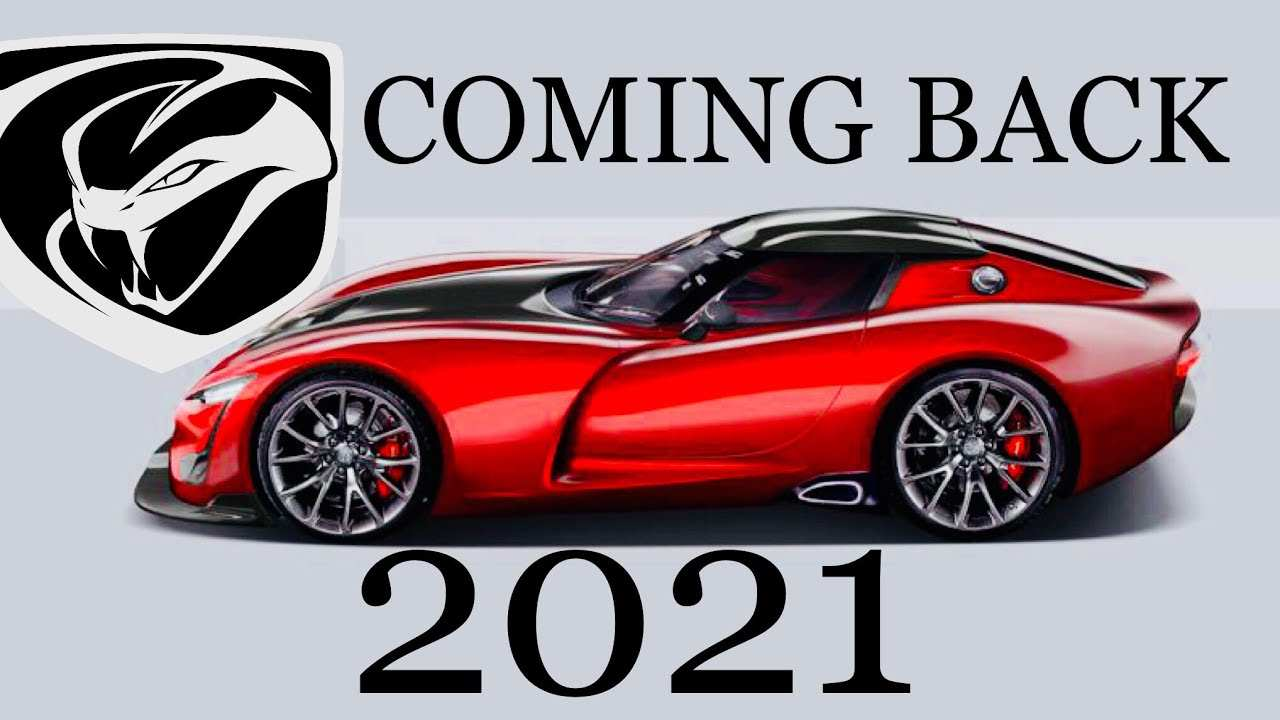 26 The 2020 Dodge Viper Youtube Ratings with 2020 Dodge Viper Youtube