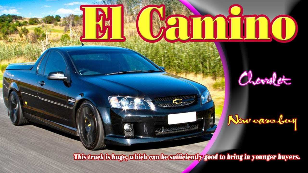 26 The Chevrolet El Camino 2020 Exterior with Chevrolet El Camino 2020