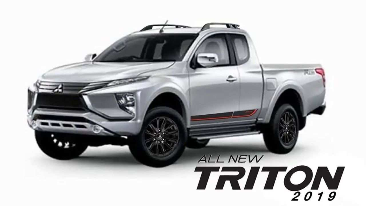 27 The 2019 Mitsubishi Triton Perfect Outdoor Photos for 2019 Mitsubishi Triton Perfect Outdoor
