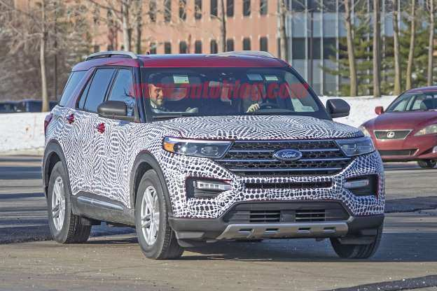 28 New Ford Unveils The New 2020 Explorer Specs with Ford Unveils The New 2020 Explorer