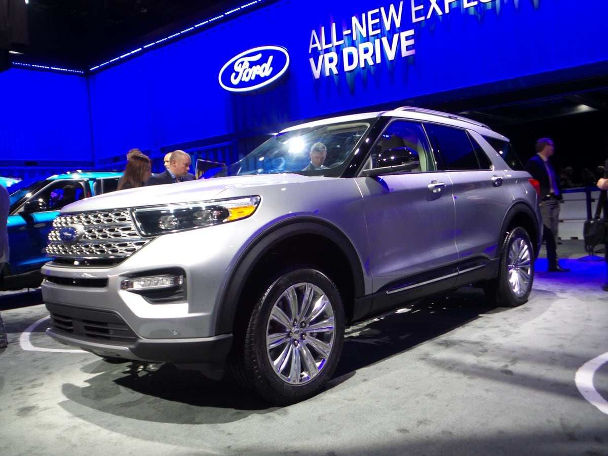31 Concept of Ford Unveils The New 2020 Explorer Ratings for Ford Unveils The New 2020 Explorer