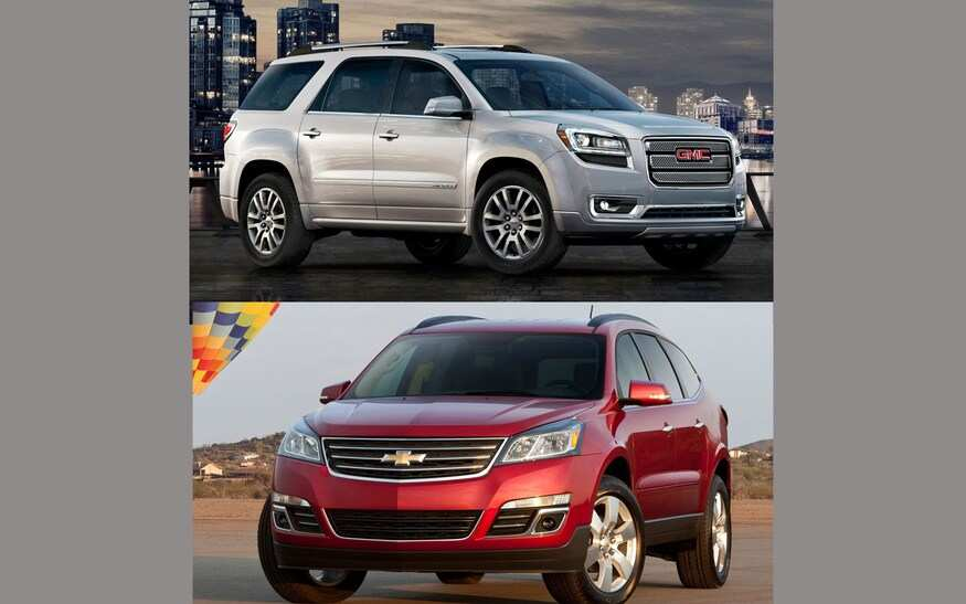 31 Great 2020 Gmc Acadia Vs Chevy Traverse Configurations by 2020 Gmc Acadia Vs Chevy Traverse