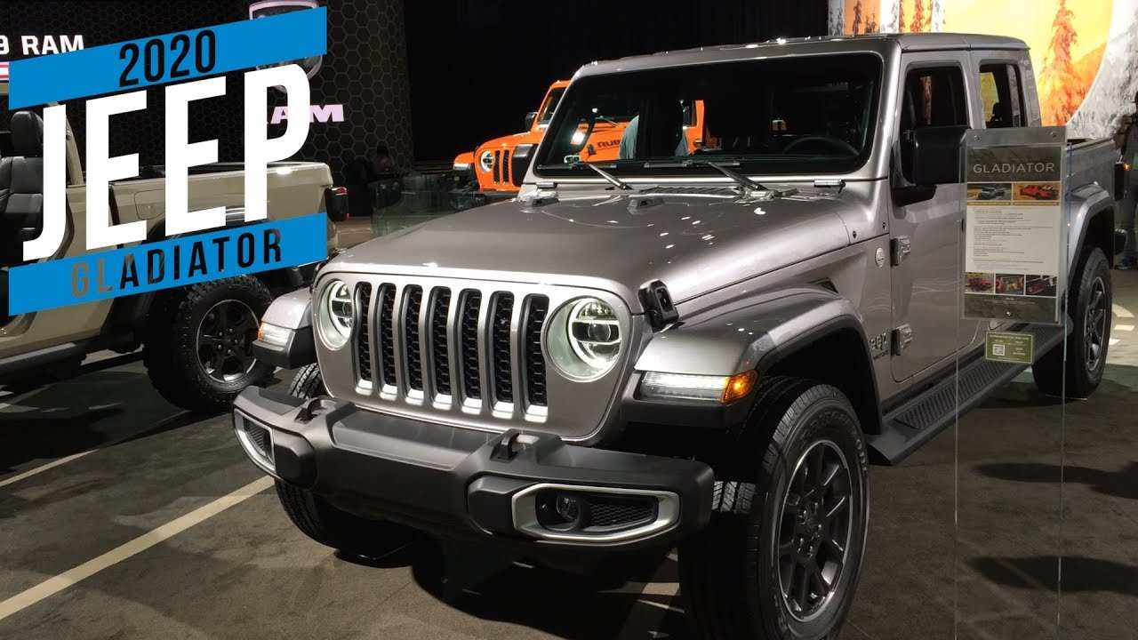 31 New 2020 Jeep Gladiator Youtube Exterior by 2020 Jeep Gladiator Youtube