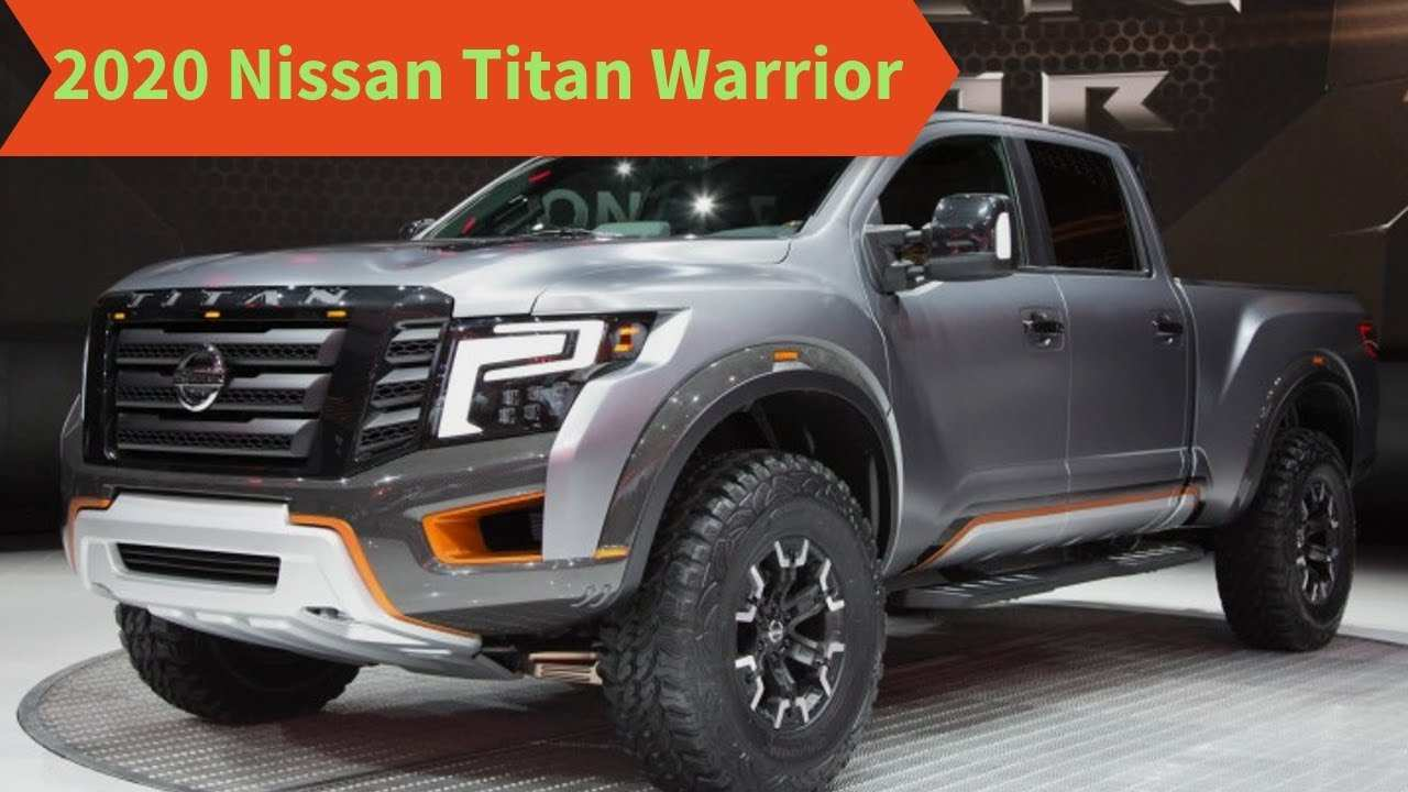 32 Gallery of Nissan Titan Warrior 2020 Overview for Nissan Titan Warrior 2020