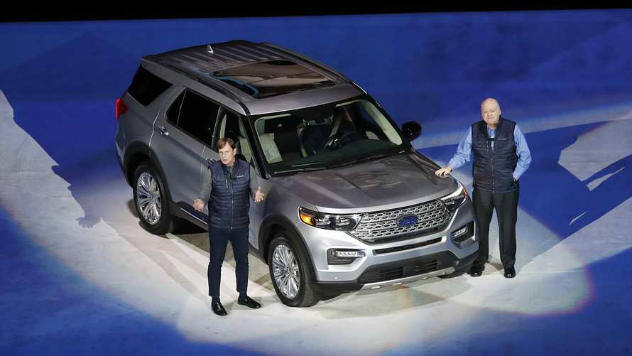 33 All New Ford Unveils The New 2020 Explorer First Drive for Ford Unveils The New 2020 Explorer