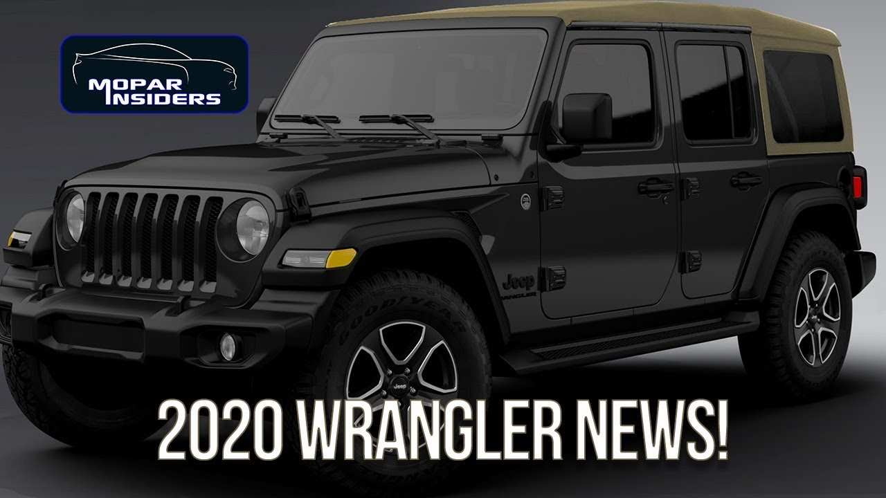 33 Great When Will 2020 Jeep Wrangler Be Available Exterior by When Will 2020 Jeep Wrangler Be Available