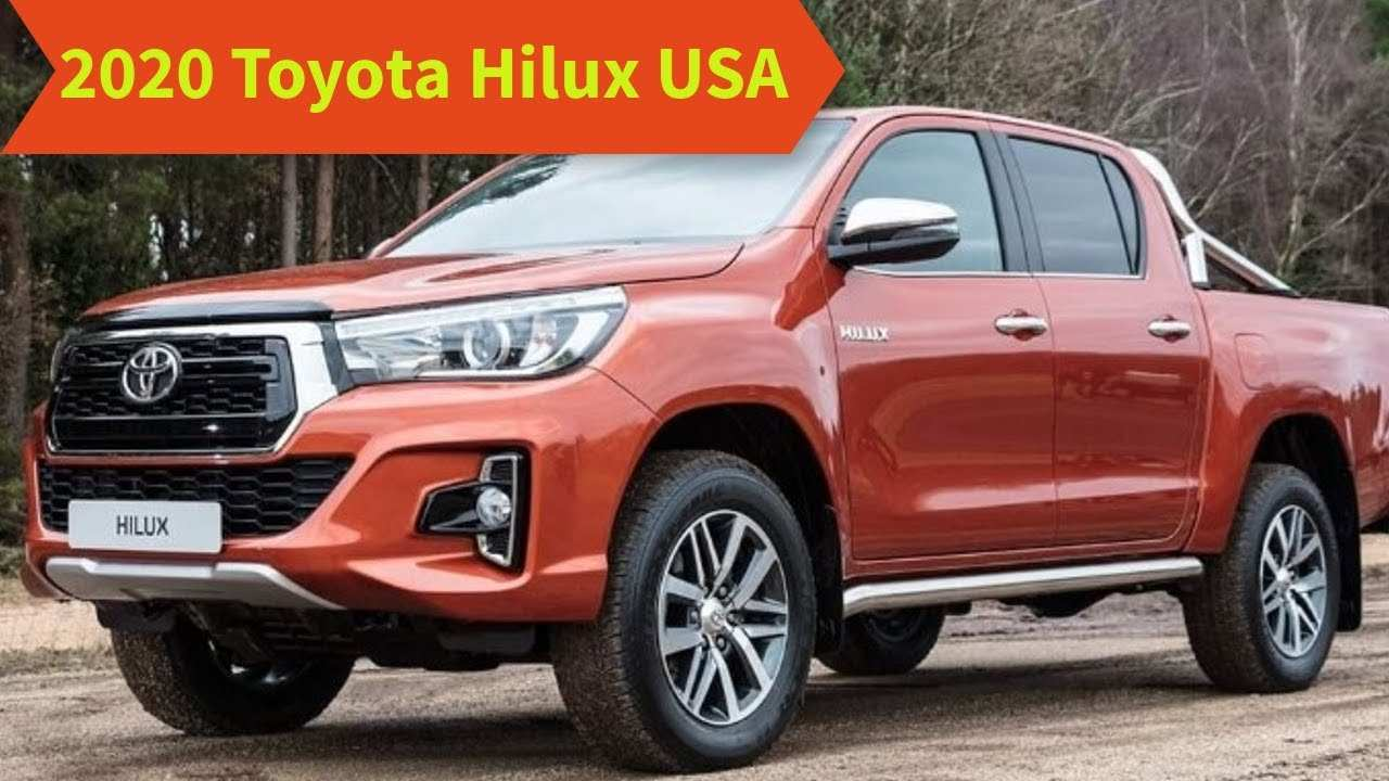 34 Great Toyota Hilux 2020 Usa Specs with Toyota Hilux 2020 Usa