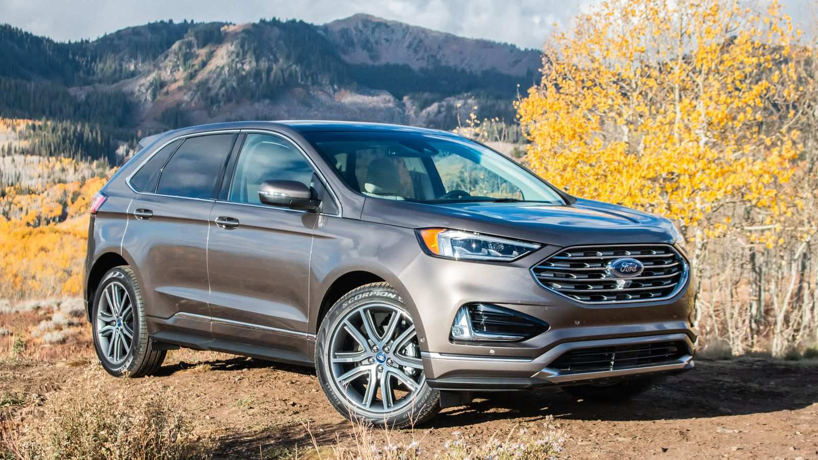 34 The 2019 Ford Edge Sport Model with 2019 Ford Edge Sport