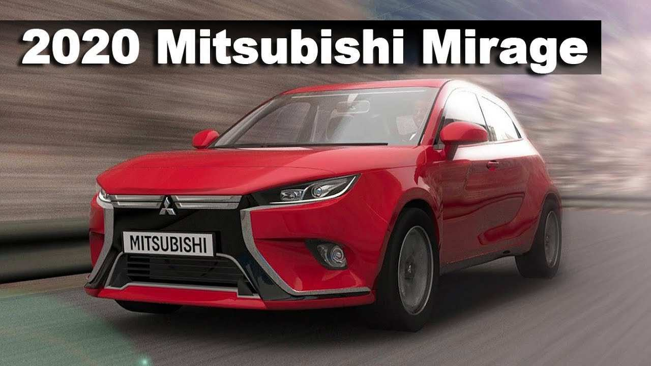 36 The Mitsubishi Space Star 2020 Exterior for Mitsubishi Space Star 2020