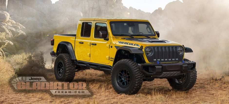 38 All New 2020 Jeep Gladiator King Of The Hammers Wallpaper for 2020 Jeep Gladiator King Of The Hammers