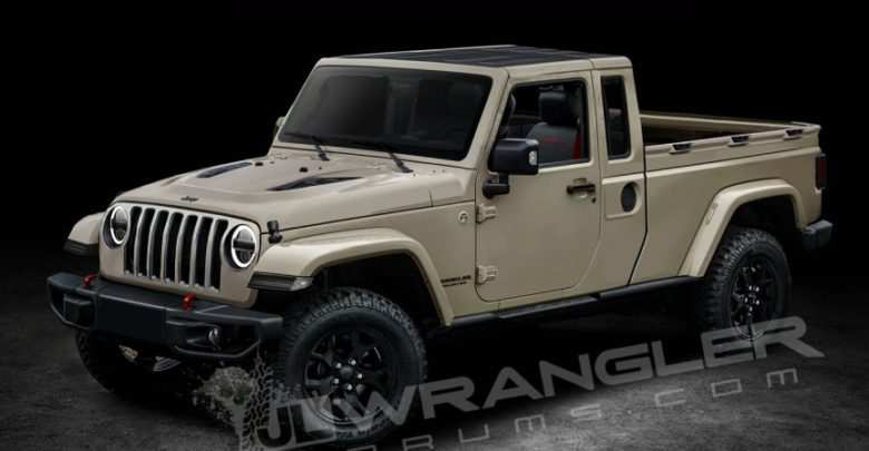 38 New Jeep Wrangler Pickup 2020 Picture for Jeep Wrangler Pickup 2020