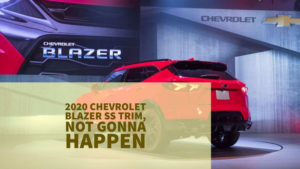 39 Best Review Chevrolet Full Size Blazer 2020 Performance and New Engine with Chevrolet Full Size Blazer 2020