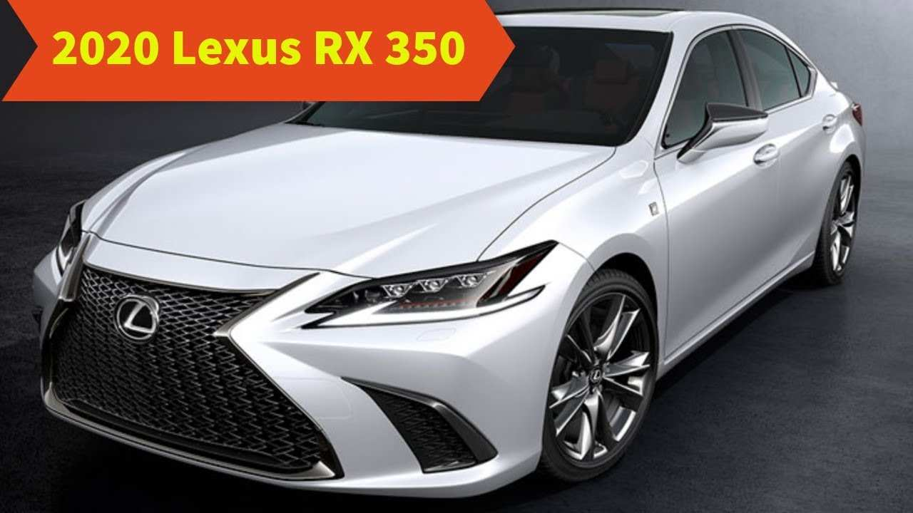 39 Best Review Lexus Rx 350 Changes For 2020 First Drive with Lexus Rx 350 Changes For 2020