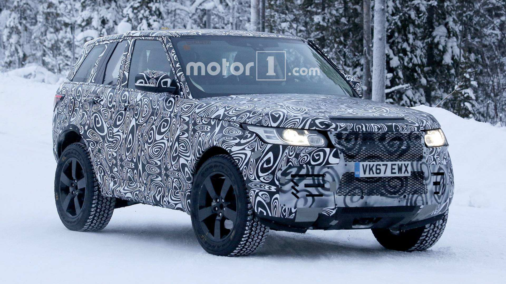 40 Best Review 2019 Land Rover Defender Redesign and Concept for 2019 Land Rover Defender